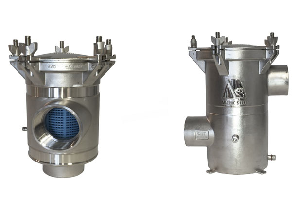 Arctic Steel Strainers 2205 Products | Kemp Propulsion Systems